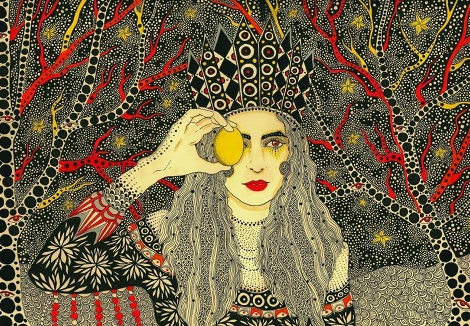 Daria Hlazatova - The Egg and the Eye - Moth Rah