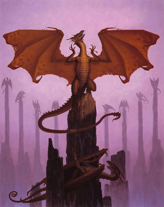Gerald Brom - Dragon Stones
