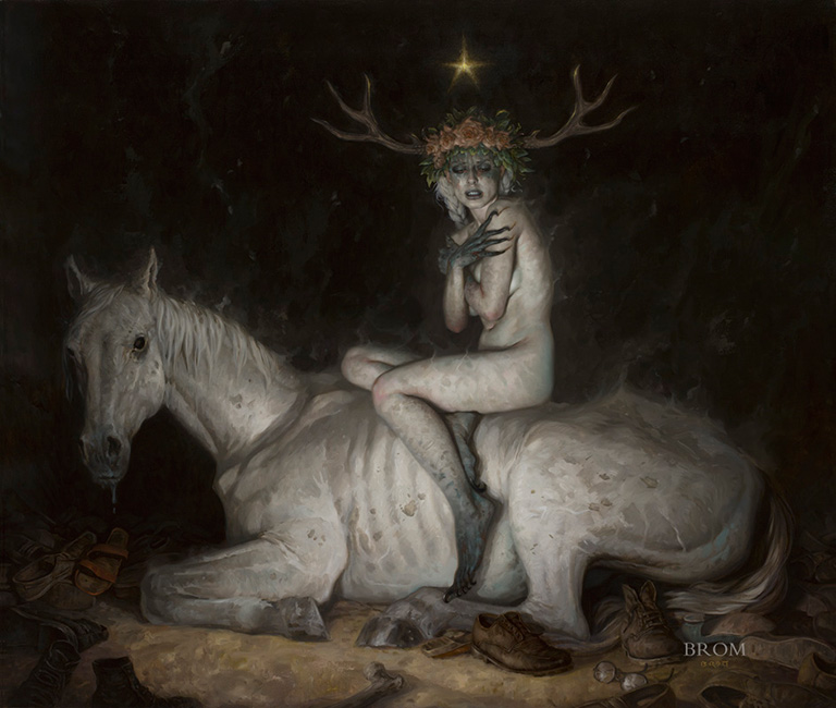 Gerald Brom - The Night Mare
