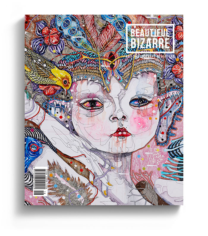 WOW x WOW - Beautiful Bizarre Magazine Issue 020