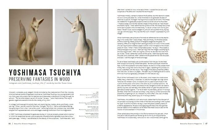 WOW x WOW - Yoshimasa Tsuchiya (Beautiful Bizarre Magazine)
