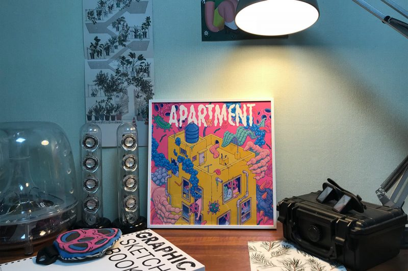 Bang Sangho - Apartment (Framed)