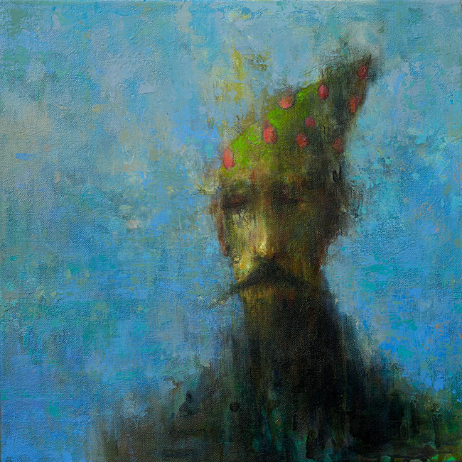 Brad Gray - Gauguin in a Party Hat