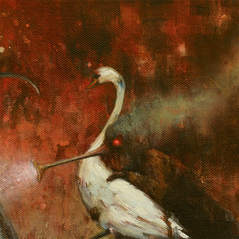 Brad Gray - Leda and the Swan (Detail 1)