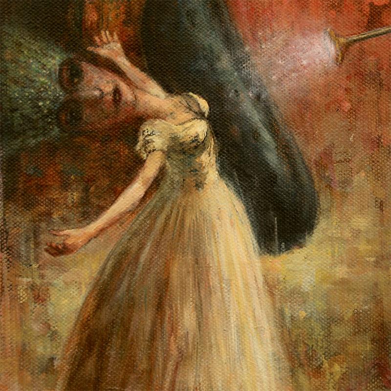 Brad Gray - Leda and the Swan (Detail 2)