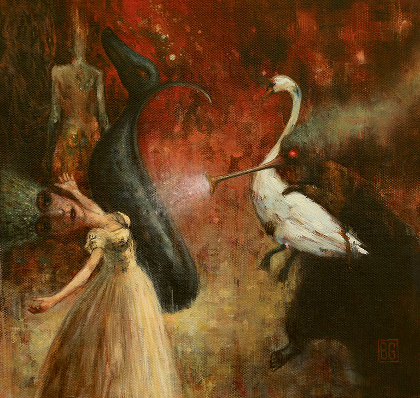Brad Gray - Leda and the Swan