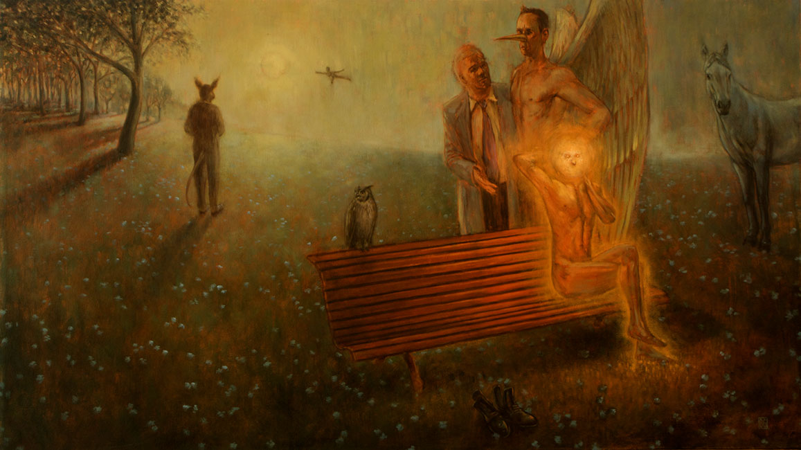 Brad Gray - Park Bench Departures