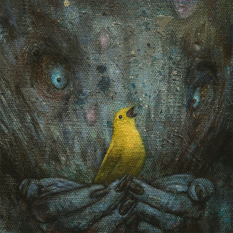 Brad Gray - Yellow Song (Detail)