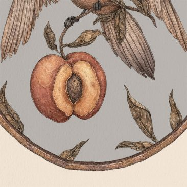Jessica Roux - Ripened by the Sun (Print) - Detail 2