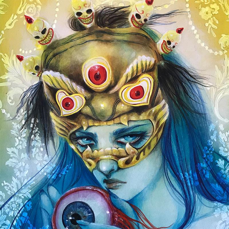 Lara Dann - The Third Eye (Detail)