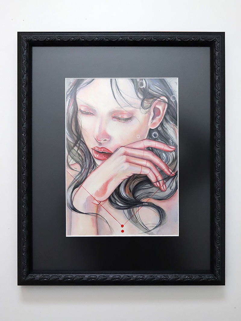 Marjolein Caljouw - Breath (Framed)