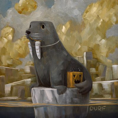 Nathan Durfee - Seal Dressed as Walrus