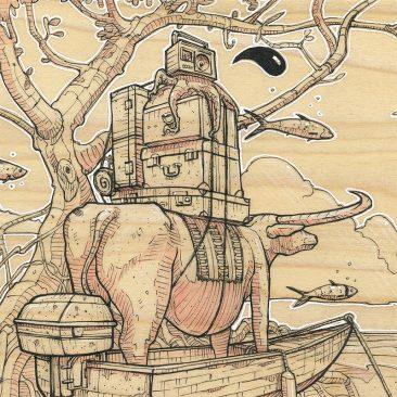 Roland Tamayo - Untethered (Detail)