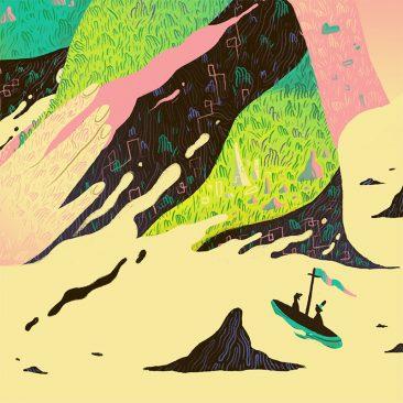 Scott Balmer - Journey to the Isle of Titans (Detail 2)