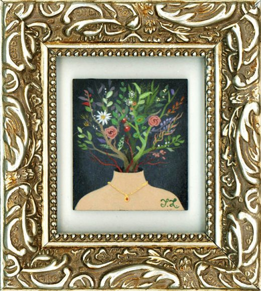 Tiffany Liu - Fresh Cut (Framed)