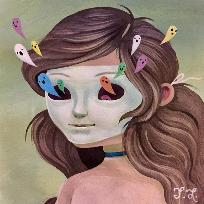 Tiffany Liu - The Ghosts in Her Eyes
