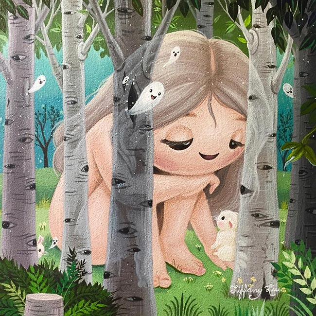 Tiffany Liu - The Ghosts that Only Trees can See