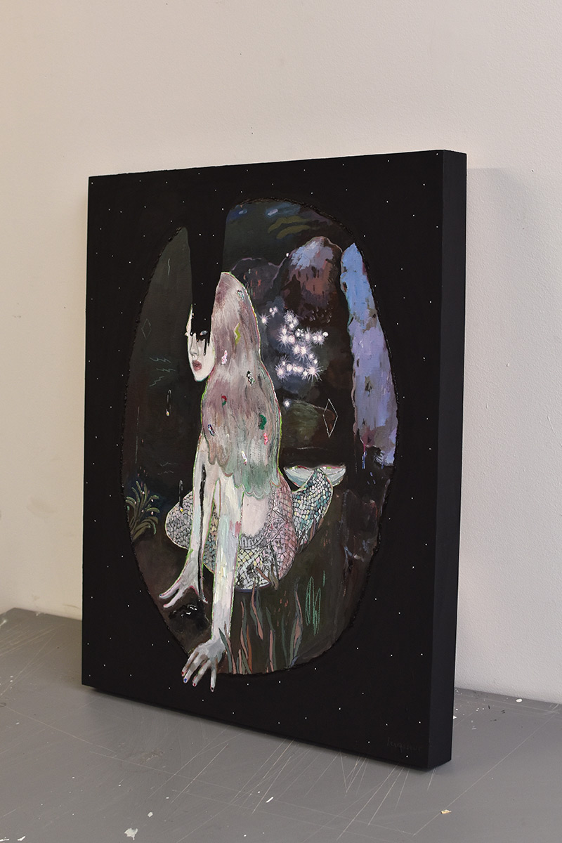 Alexandra Levasseur - Dark Matter (Side View)