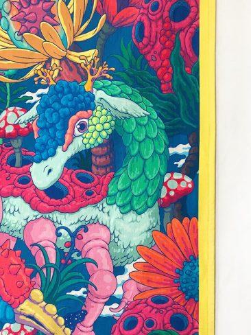 Bang Sangho - Blooming Animals (Detail 1)