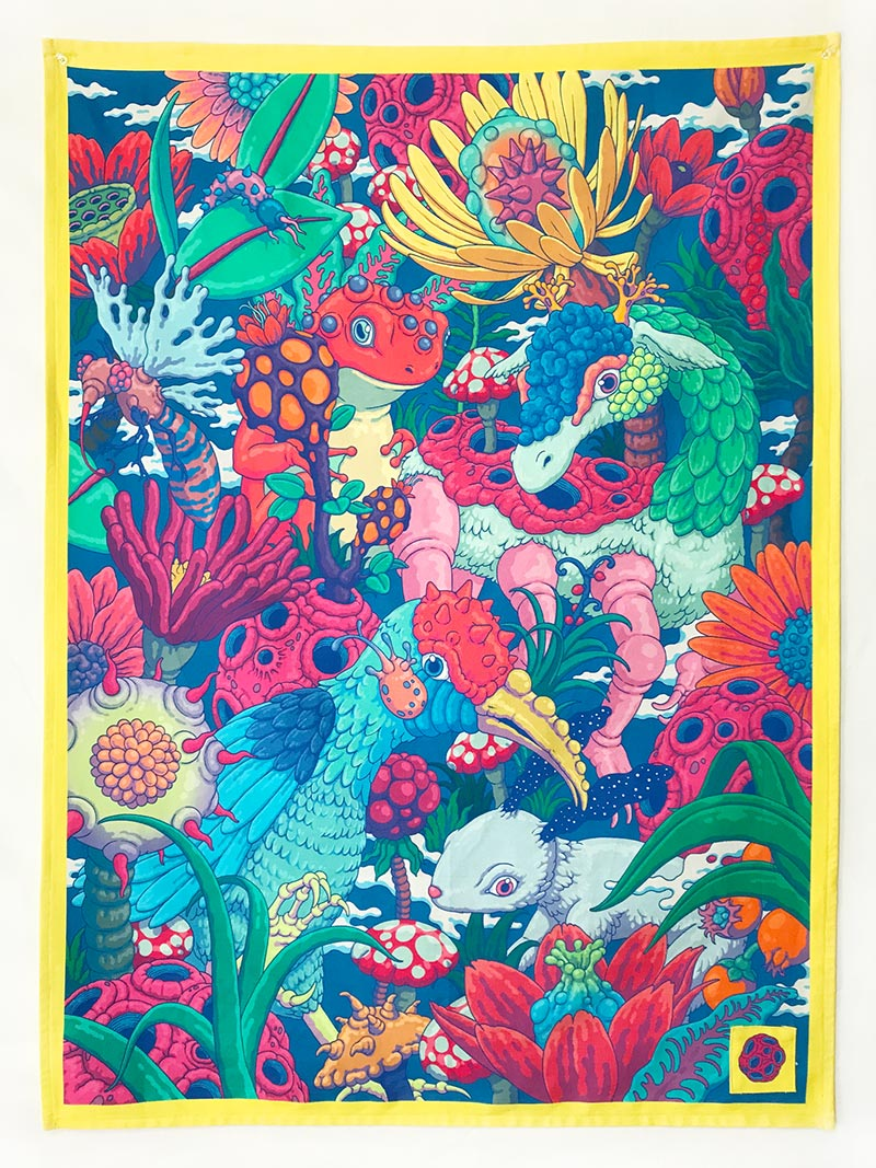 Bang Sangho - Blooming Animals