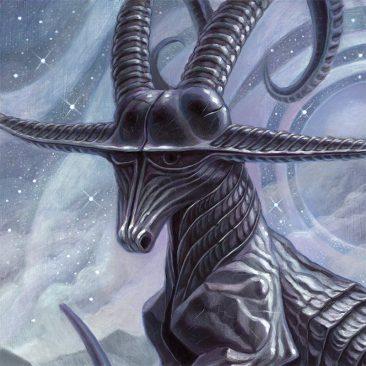 Brendon Flynn - Celestial Relic - Rings Coalesce Over Ea (Detail 1)