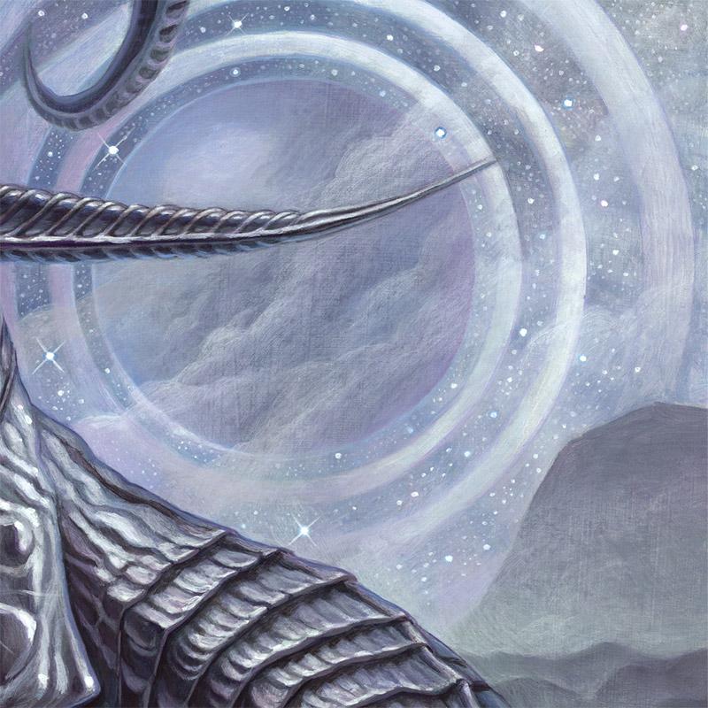 Brendon Flynn - Celestial Relic - Rings Coalesce Over Ea (Detail 2)