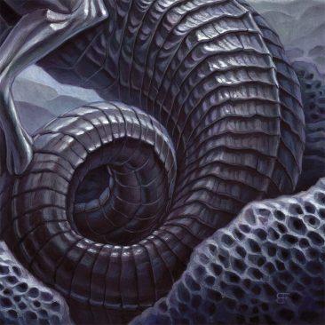 Brendon Flynn - Celestial Relic - Rings Coalesce Over Ea (Detail 3)