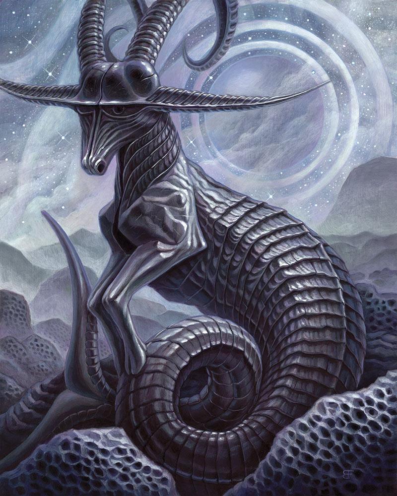 Brendon Flynn - Celestial Relic - Rings Coalesce Over Ea
