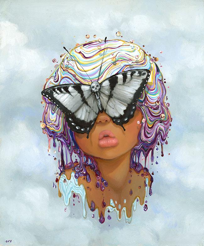 Camilla d'Errico Butterfly Girl 2