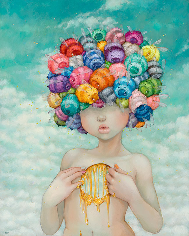 Camilla d'Errico - Honeycomb Girl