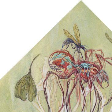 Corinne Reid - One Dies, One Grows (Detail 1)