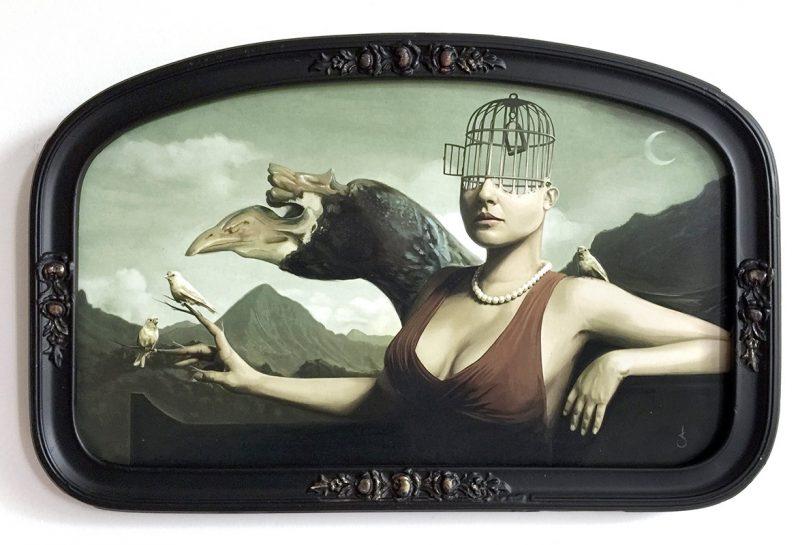 David Seidman - Valley of the Birds (Framed)