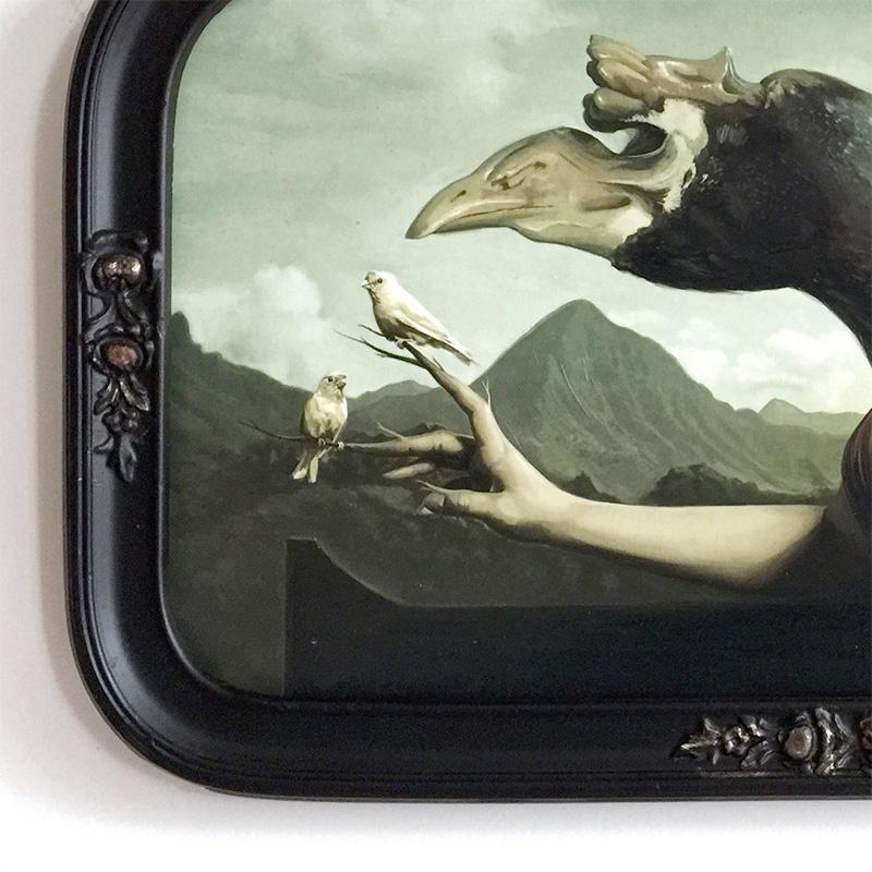 David Seidman - Valley of the Birds (Framed - Detail 1)
