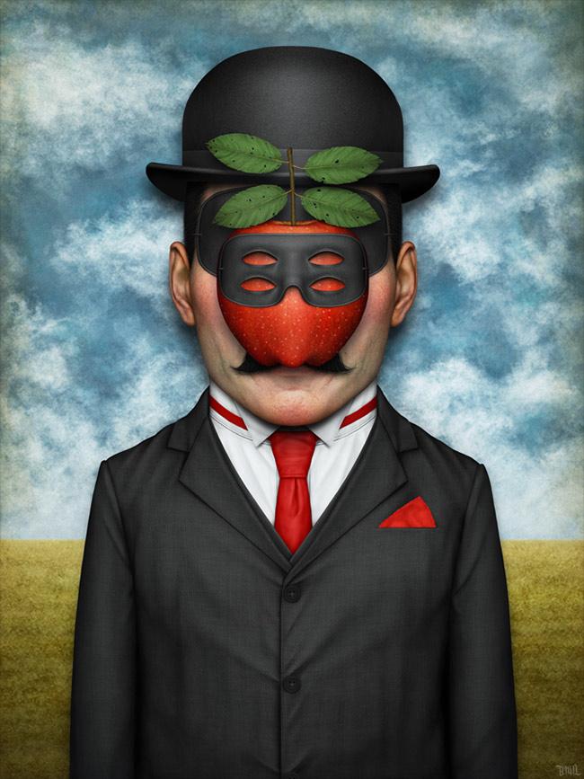 Gianluca 'Tenia' Gambino - Ceci n'est pas un Magritte