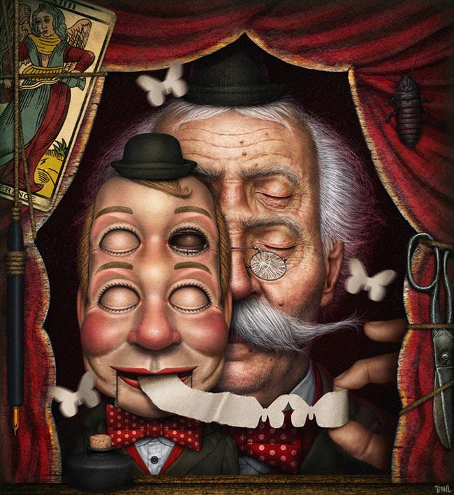 Gianluca 'Tenia' Gambino - Le ventriloque