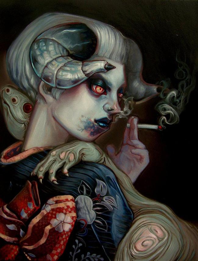 Jacqueline Gallagher - Kimono Dragon
