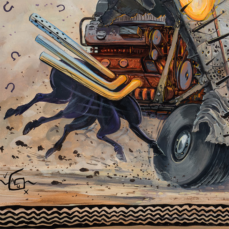 Joe Vaux - Horsepower (Detail 3)