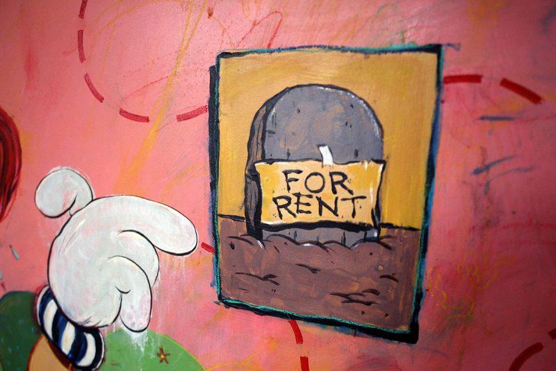 Lauren Genovese - Rent's Due Today! (Detail 1)