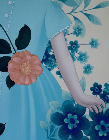 Sean Mahan - The Edible Flower (Detail 1)