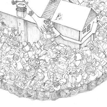 Shreya Gupta - Hoarding (Detail 2)
