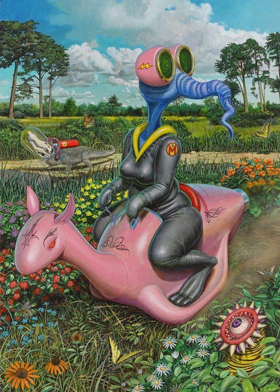 Thomas A. Gieseke - Afternoon Ride