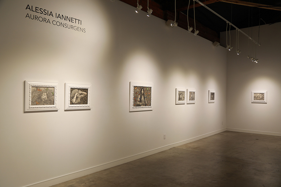 Alessia Iannetti - Aurora Consurgens at Corey Helford Gallery 1