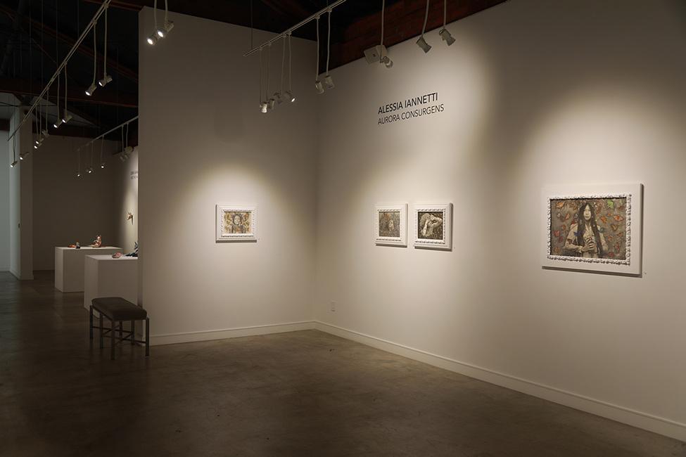 Alessia Iannetti - Aurora Consurgens at Corey Helford Gallery 2