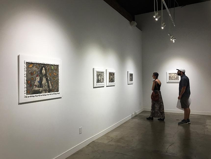 Alessia Iannetti - Aurora Consurgens at Corey Helford Gallery 3
