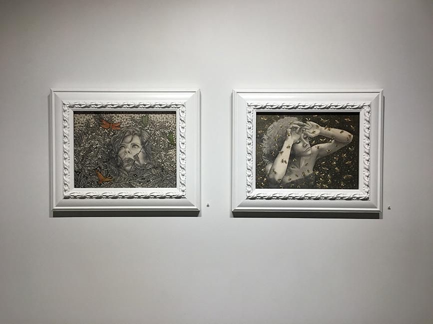 Alessia Iannetti - Aurora Consurgens at Corey Helford Gallery 4