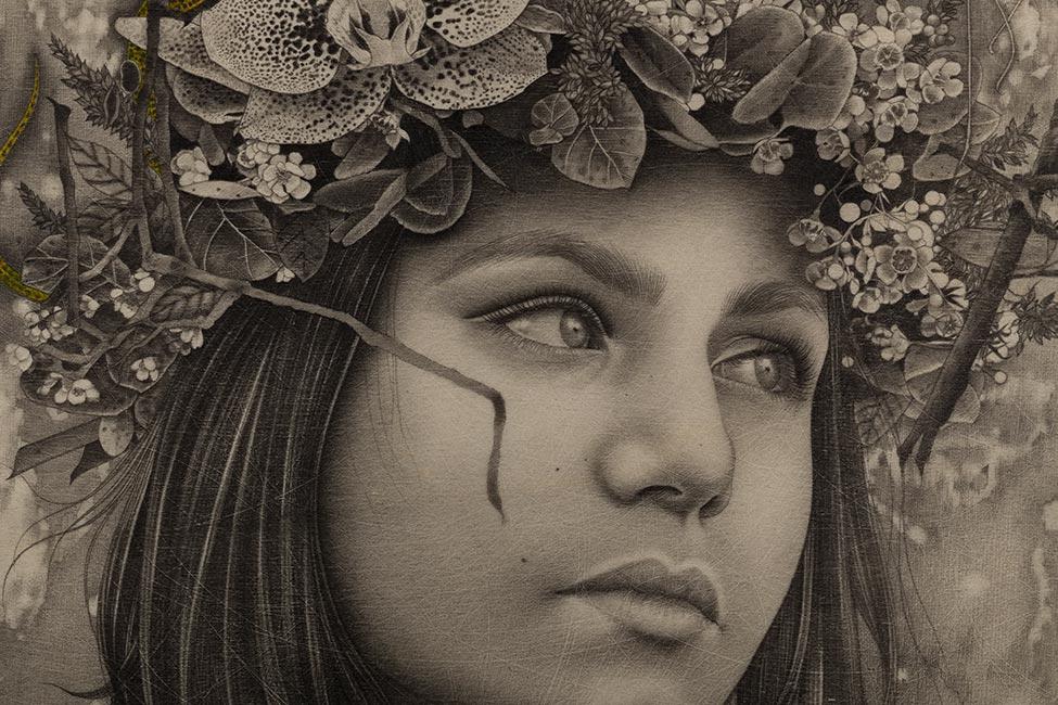 Alessia Iannetti - Hekate (Detail)