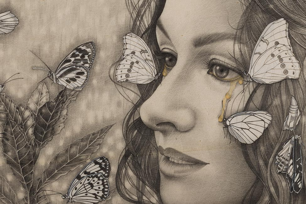 Alessia Iannetti - Lacryphagy (Detail)
