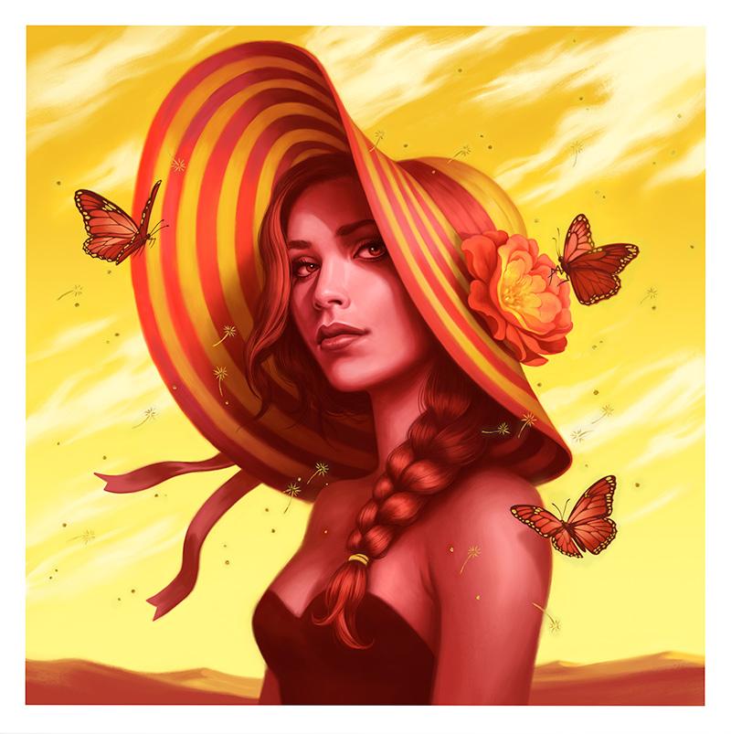 Allison Reimold - Desert Rose (Border)