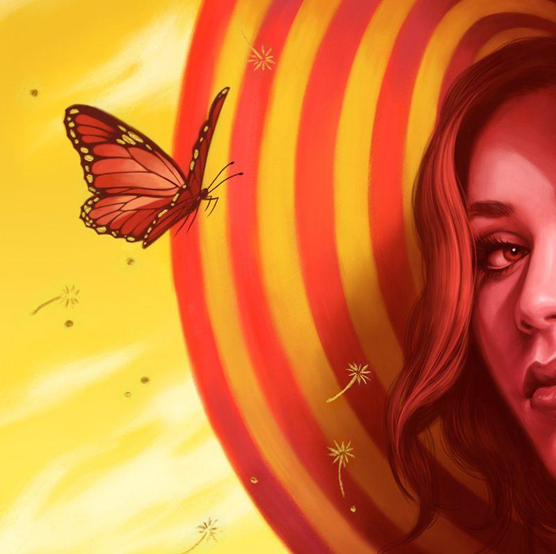 Allison Reimold - Desert Rose (Detail 1)