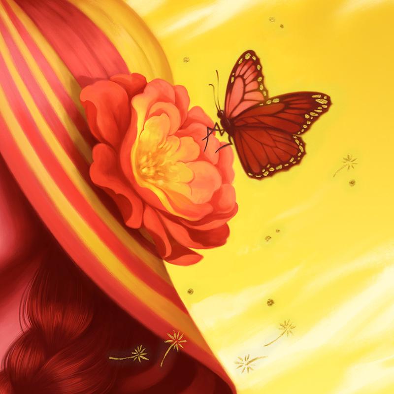 Allison Reimold - Desert Rose (Detail 2)